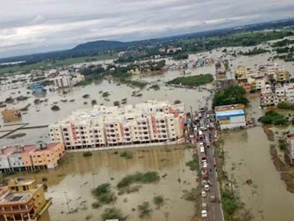 I am fundraising to help get food to the flood affected in chennai