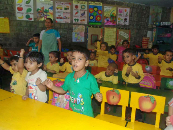 Palna Shishu Kendra Class room furniture for 50 underprivileged kids