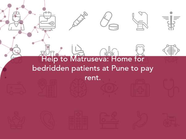 Help Matruseva: Home For Bedridden Patients