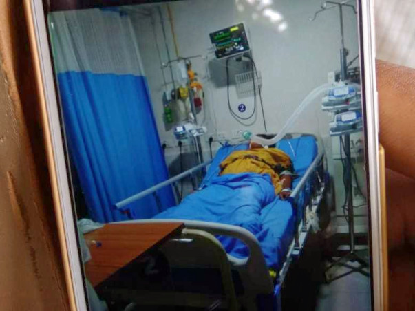 Help Jayasri, mother of a newborn, fighting for her life in ICU.