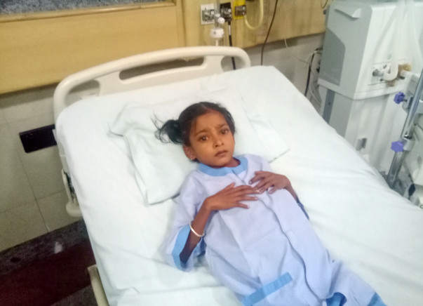 10-year-old Anusha with Cardiac failure urgently needs surgery