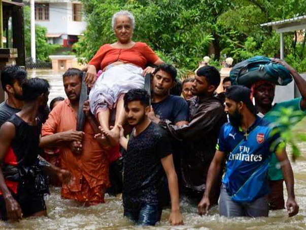 Help for Kerala flood victims August 2018
