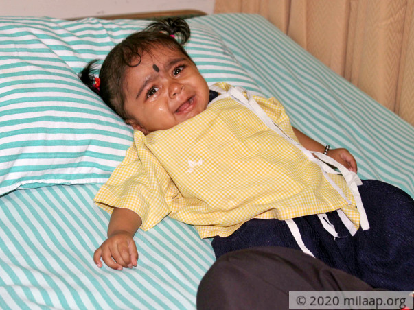 8-Month-Old Gets Painful Injections Every Day Because Of Blood Disease