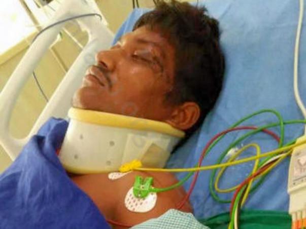 Help D. Kalyan his met an accident