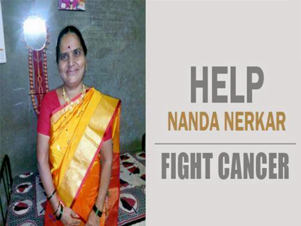 Help Nandabai Fight Rare Gall Bladder Cancer (occurs to1 in a million)