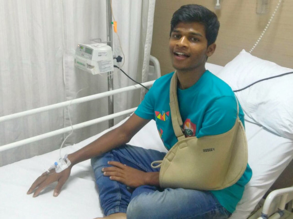 Help Sagar Fight Bone Cancer