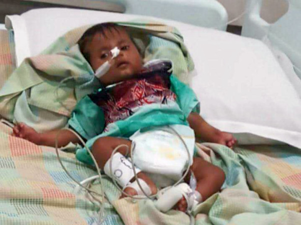 Help little Debika to fight a very rare life-threatening disease