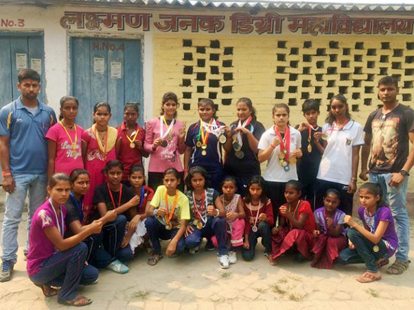 We are fundraising to build a boxing-ring for Dighwaras Girl Boxing Champions