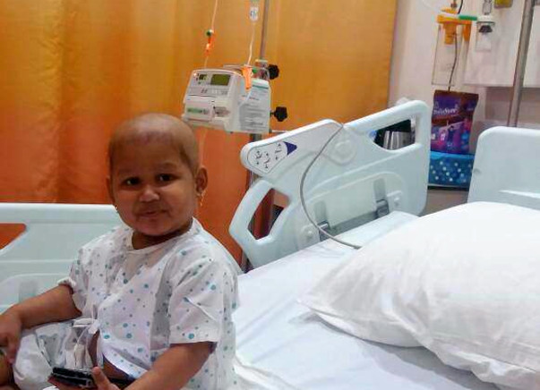 Help Aadya defeat cancer