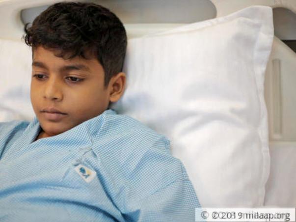 Help 13-year-old Alwin fight heart disease