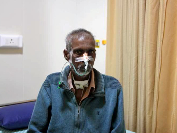 Help Babul Das fight throat cancer it spreads to the rest of his body