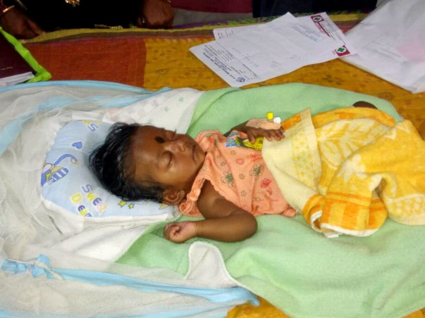 Help The Baby of Jangyaseni Bibhar #GetWellSoon