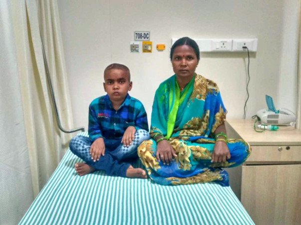 Abhishek Has A Brain Tumour That is Taking Away His Sight And His Life
