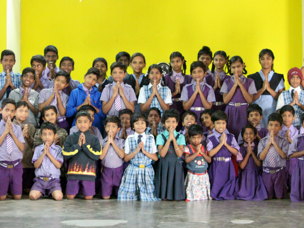 HELP US TO BUILD A PERMANENT HOME FOR 45 UNDERPRIVILEGED CHILDREN