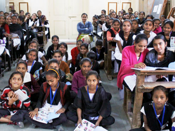 We need your help to make girls from five villages in India period-ready!