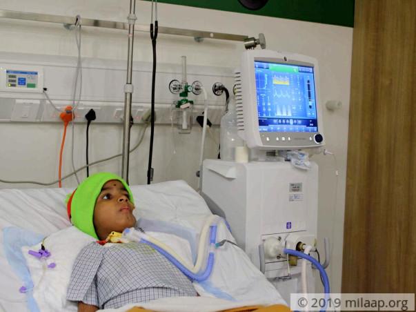 Help Aayush to undergo his treatment