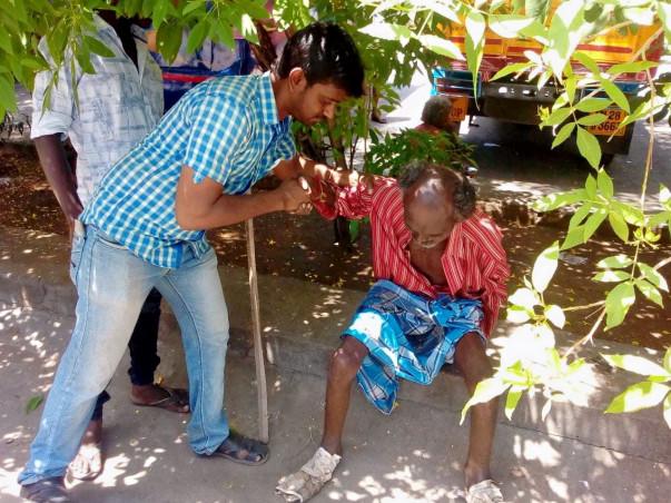 Make beggar free India.