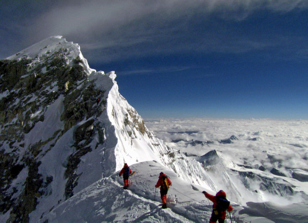 Help Sauraj conquer the world's highest peak