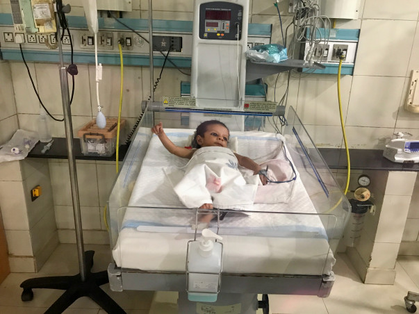 3-month-old Virat Is Battling Death In Need Of A Heart Surgery