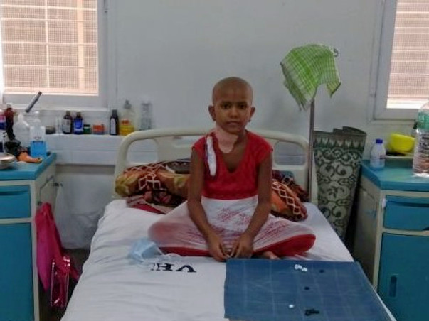 Help 9-year-old Akshata fight cancer
