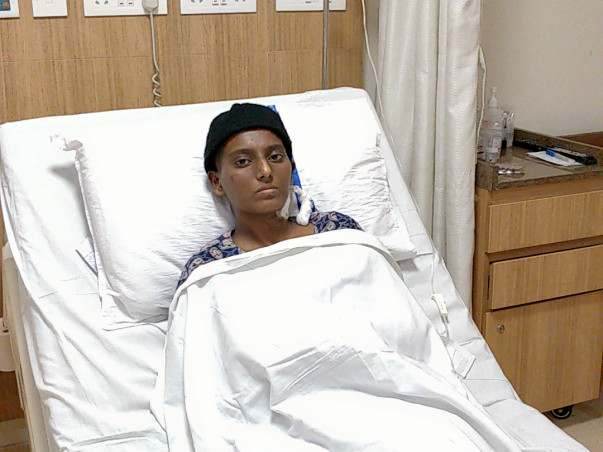 Santhi priya 19 Y, Battling with Blood Cancer (Acute Myeloid)