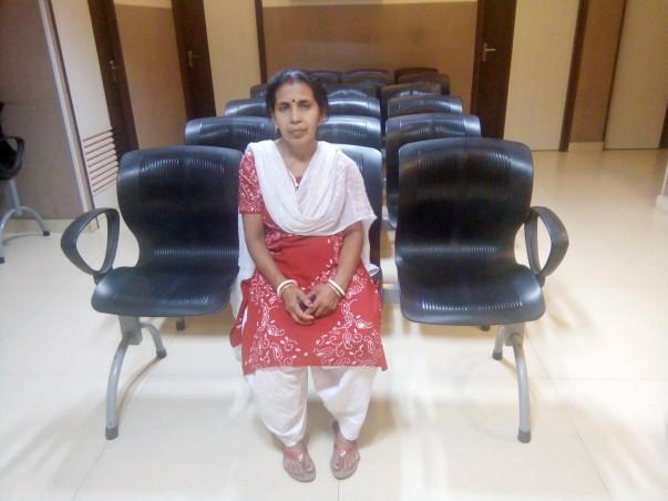 Help Mita Saha undergo a spinal surgery