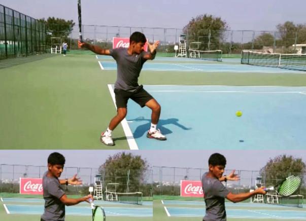 Help Nishad play the International Tennis Tournament in Lebanon