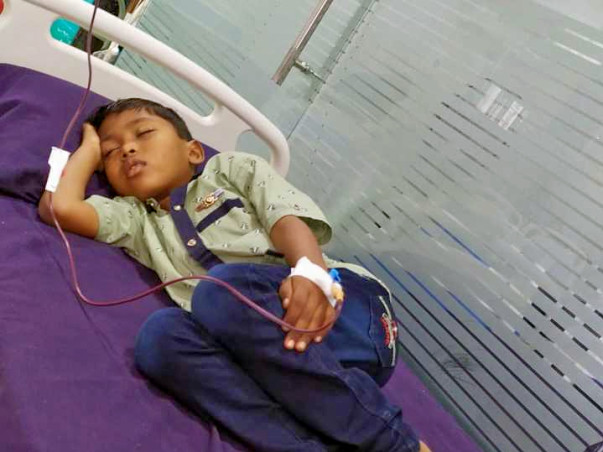 Support Hemanth Kumar Recover From Thalassemia Major