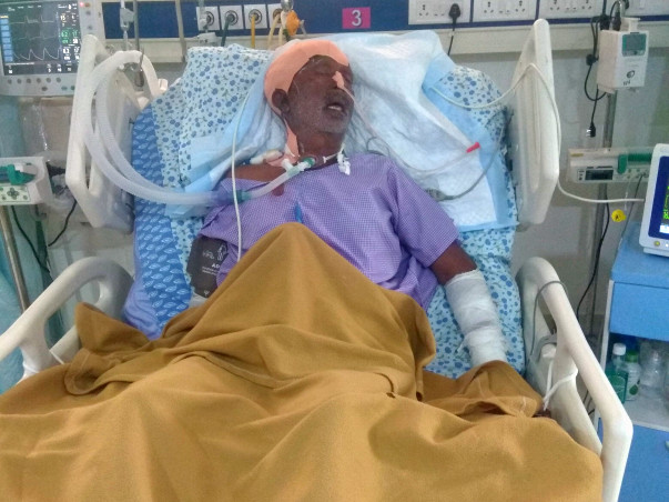 Help My Father Get Treated for Paralysis