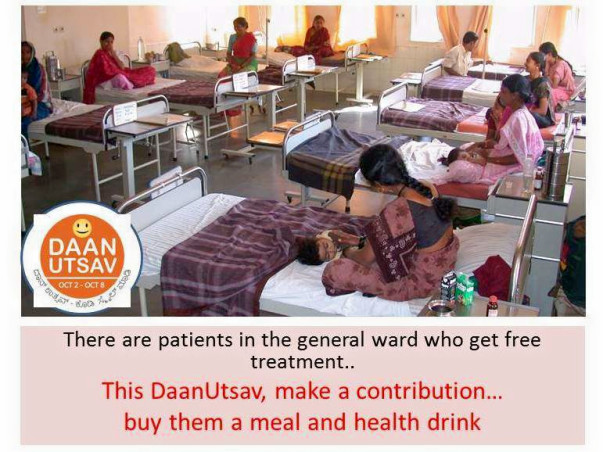 Help Poor patients with their Meals, health drink and dialysis needs