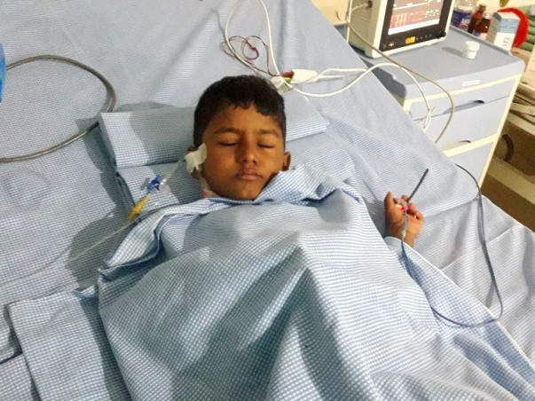 Help Akhil, Fighting for His Life Against Haemolytic Uremic Syndrome