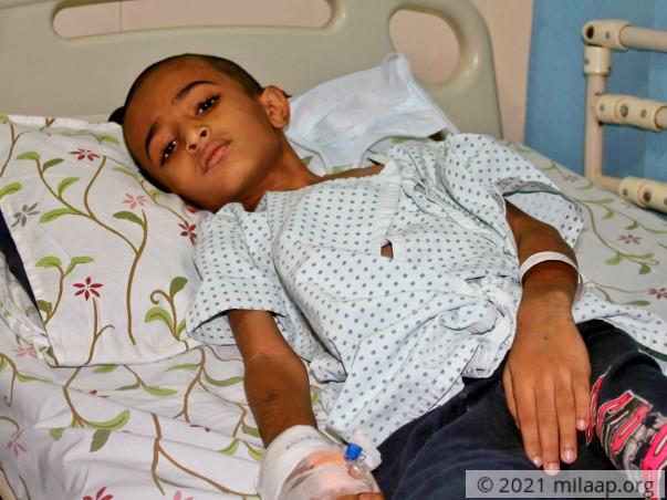 Help Samson Fight Acute Lymphoblastic Leukemia
