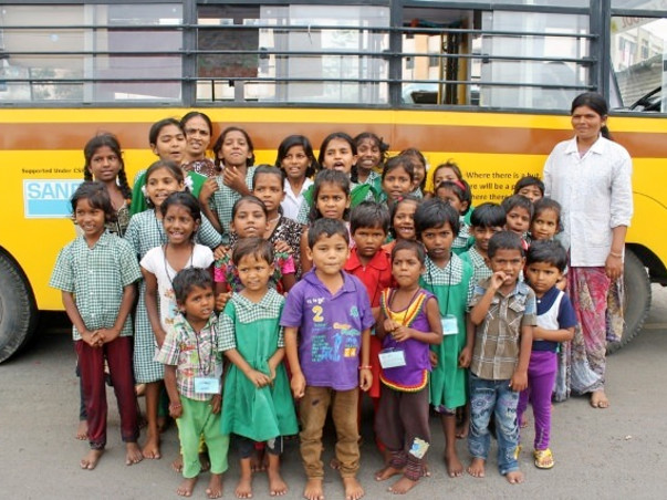 Help the underprivileged kids travel to school