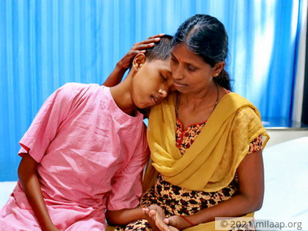 Help this single mother save her son from liver disease