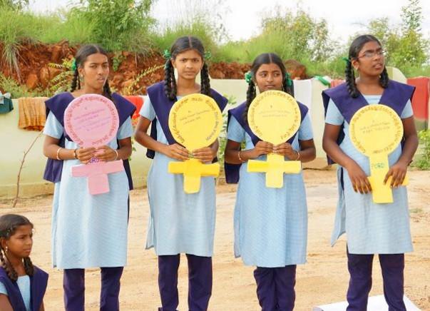 Support for Menstrual Hygiene of 3500 Girls in Telangana #Noshame
