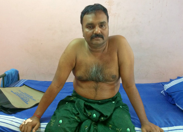 Help Mr. Madhu To Fight Against Cancer. He is in Critical Condition.