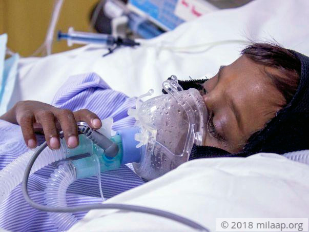 Mother Breaks Down Unable To Save Her 6-year-old Who Is Critically Ill