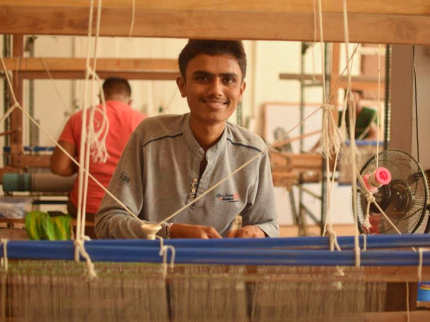 Support a new batch of students at The Handloom School