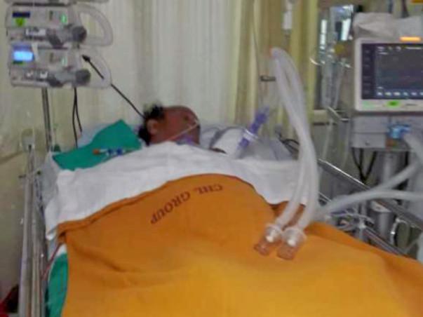 Help Manoj Sharma fight swine flu