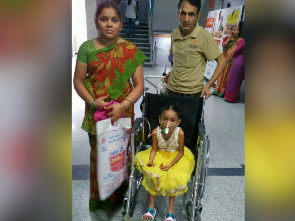 Help 6-Year-Old Lahari Undergo Urgent Lung Surgery