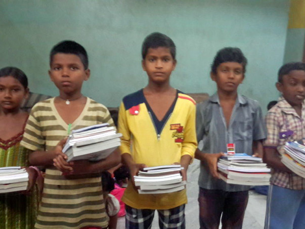 Gift An Education Kit To Orphan children - 2017