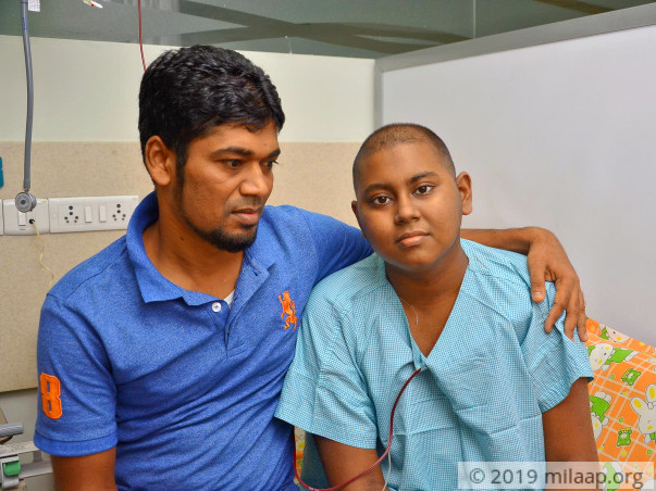 16-years old Mohamed Sameer needs your support to undergo treatment