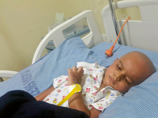 3-year-old Sufian is battling cancer and needs our help