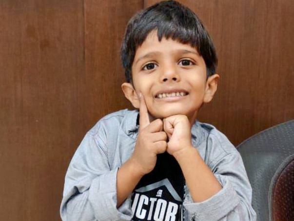 5 Years Old Aarav Patel Needs Your Help To Get A Heart Surgery