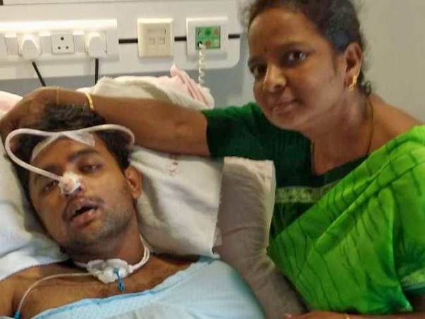 Help Mohan Raj to Recover Axonal Brain Injury