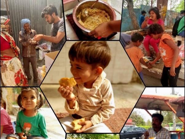 Help Us Feed A Few Empty Stomachs - 'Khaan-daan'