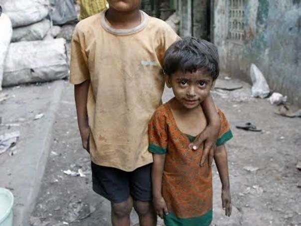 Helping slum kids