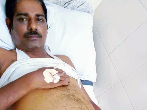 Support Jeyachandran To Recover!