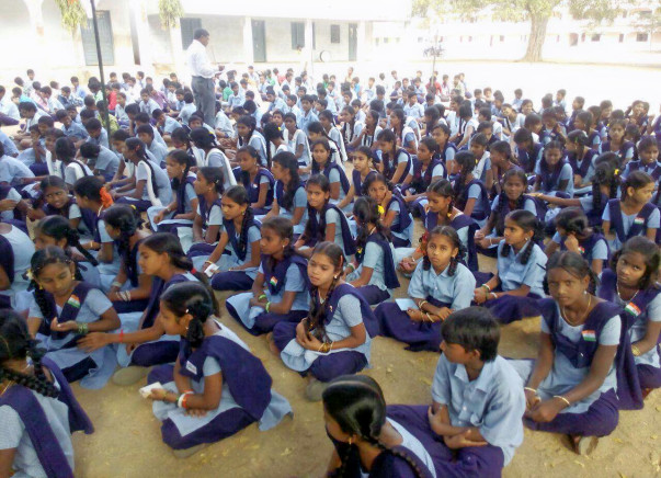 ZPHS Boys School At Pochampally Needs Classroom Furniture