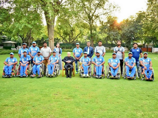 Support Wheelchair Cricket